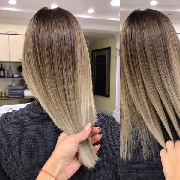 Модные техники окрашивания волос 2021