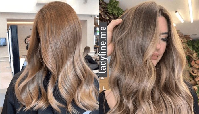 Роскошные оттенки окрашивания для русых волос 2021