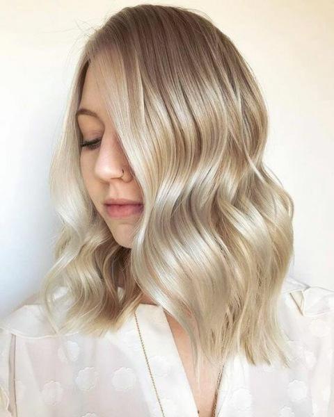 Ванильный блонд: 15 восхитительных вариантов для каждой из вас
