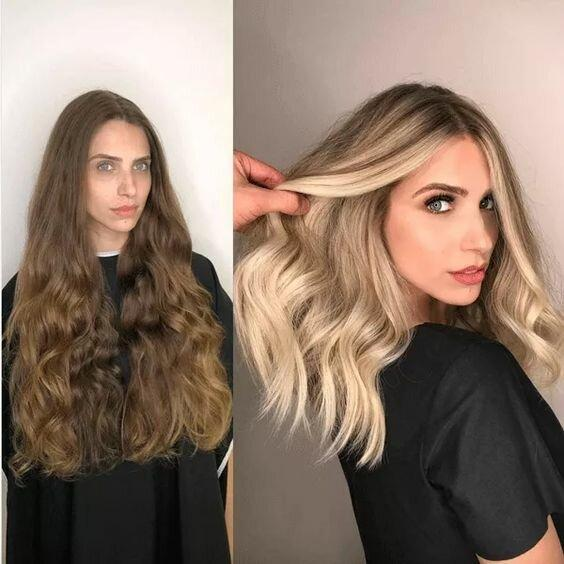 """11 невероятных """"до"""" и """"после"""" с волосами, которые вас вдохновят"""