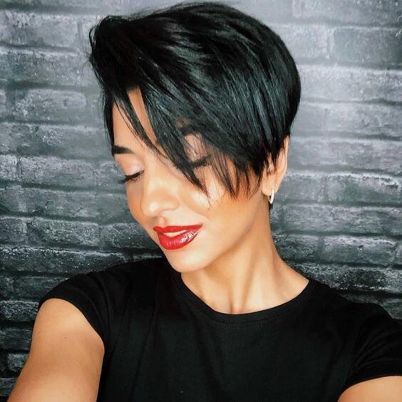 15 стильных коротких стрижек на прямые волосы