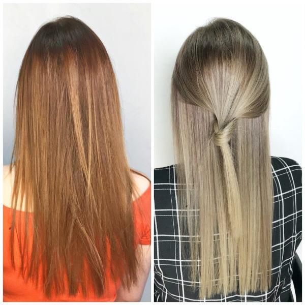 5 проверенных рецептов тонирования против рыжины для русых волос