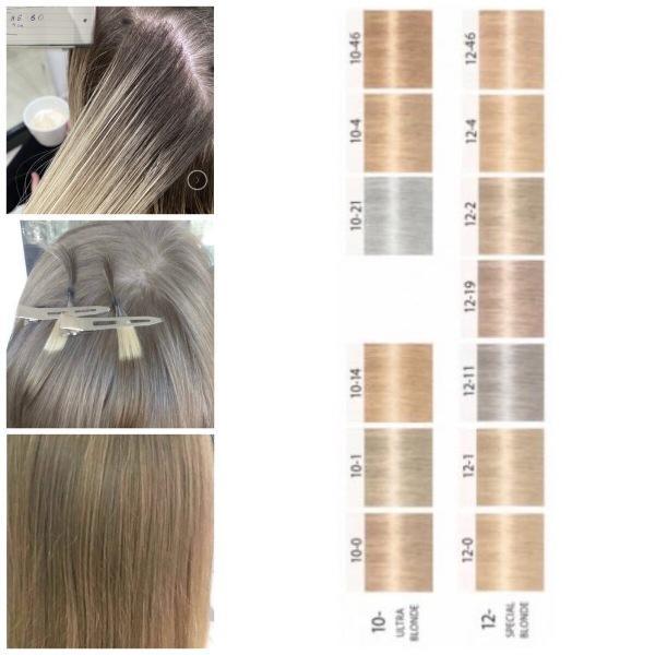 Как выбрать свой оттенок блонда из палитры Igora Royal ?