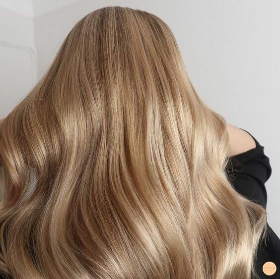 Каштановый блонд: 19 великолепных идей
