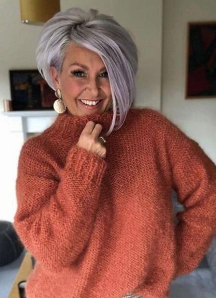 Модные стрижки 2021 для женщин за 50 лет