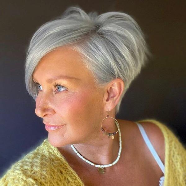 Виды стрижки пикси для дам 40-50 лет: 12 идеальных вариантов