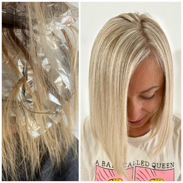 Чем тонировать мелированные волосы? Рецепт окрашивания.