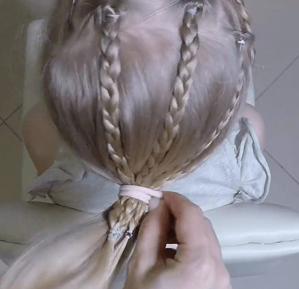 Как легко и быстро сделать прическу на длинные волосы