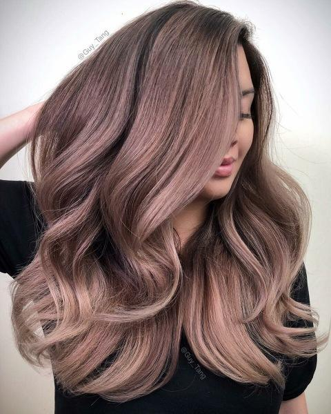 Потрясающие примеры окрашиваний для тонких волос средней длины