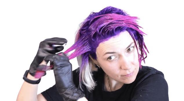 Яркое окрашивание волос дома | Окрашивание волос в 2 цвета