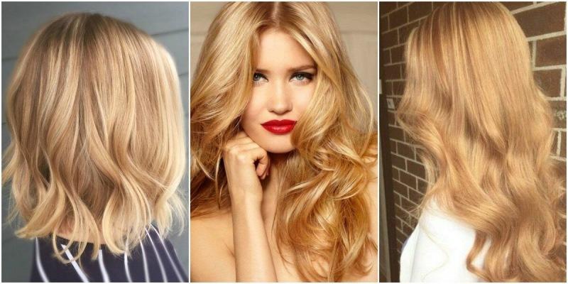 Модные оттенки блонда 2021