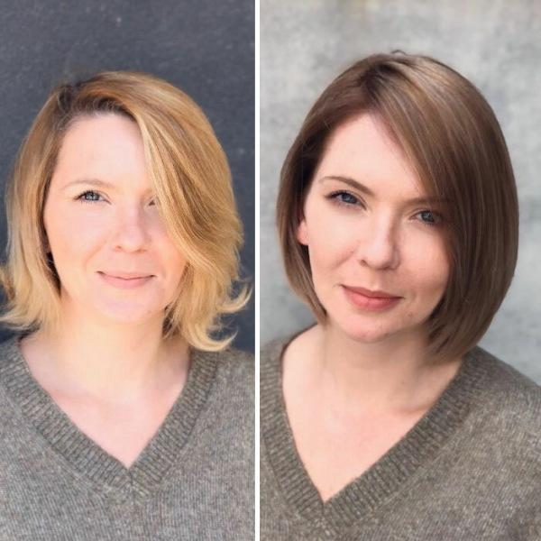 Насколько цвет волос может изменить ваш образ «До и После»