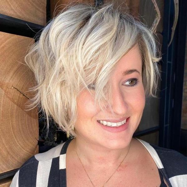 10 модных рваных боба для любых волос