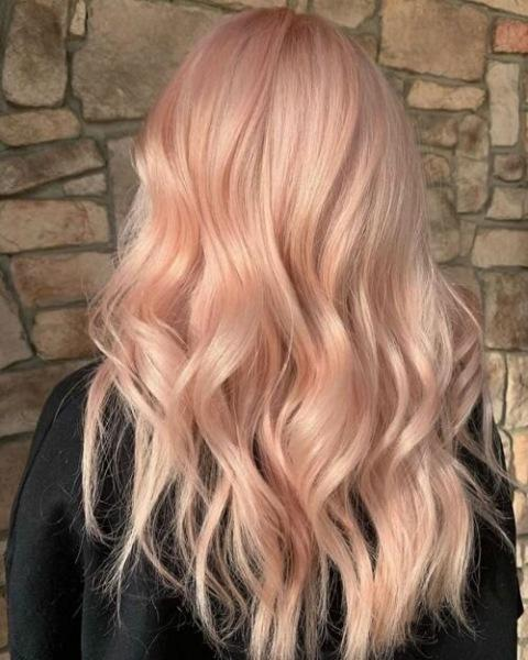 """Новый тренд: цвет волос """"теплый персик"""""""