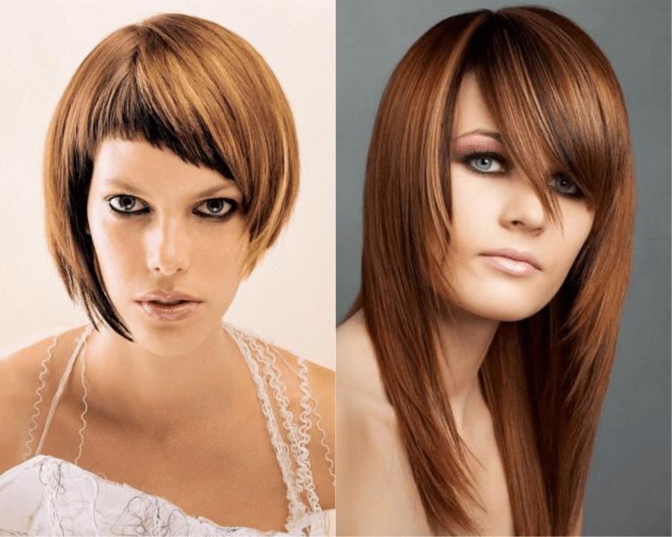 13 модных причесок с боковой челкой на любую длину волос, которые вы можете сделать в этом году