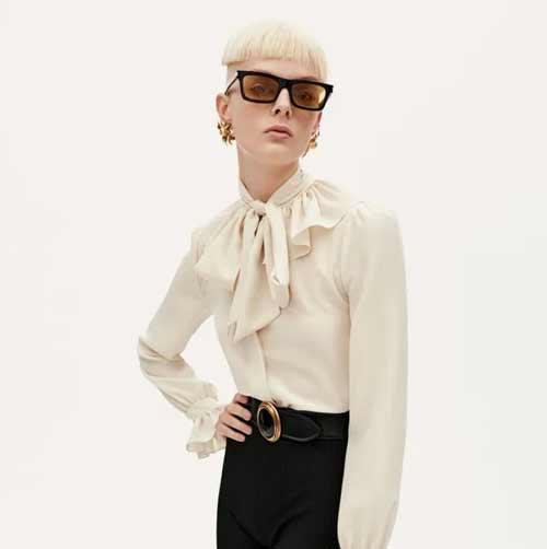 Настоящая челка 2021: фото, тренды, модные тенденции