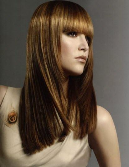 Настоящие стрижки с челкой на длинные, средние и короткие волосы