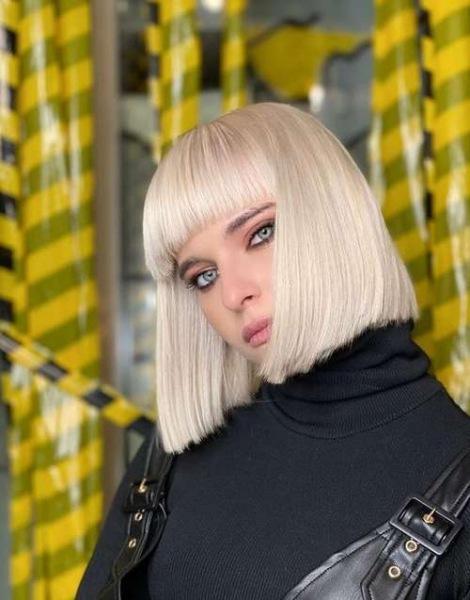 Боб каре с челкой 2021: фото стильных стрижек, тренды