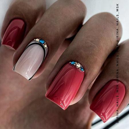 Цветовая гамма зимнего маникюра 2020-2021. Модные идеи зимнего дизайна ногтей