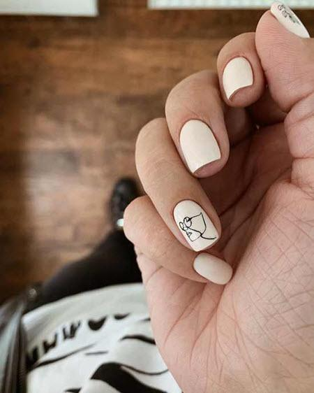 Элегантный маникюр 2021-2022 - стильные фото новинок модного дизайна ногтей