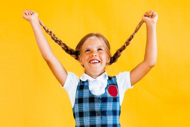 И снова 1 сентября: самые простые икрасивые прически дляшкольниц