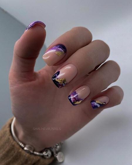 Весенний маникюр 2021 - модные фото новинки весеннего дизайна ногтей. Более 200 фото