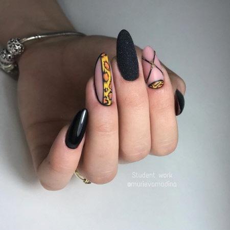 Маникюр зима 2021-2022: фото модных тенденций в дизайне ногтей. Более 200 фото новинок