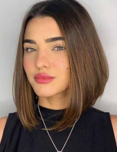 Модные стрижки на волосы до плеч 2021: фото, тренды