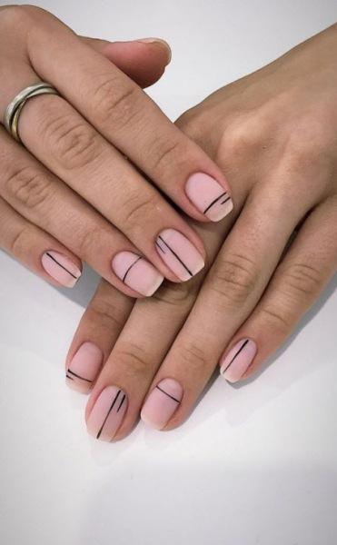 Модный зимний маникюр 2021-2022 на короткие ногти. Более 100 фото трендового дизайна ногтей