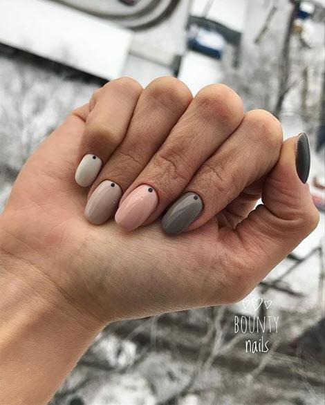Нежный маникюр 2020: более 150 фото самых красивых дизайнов ногтей