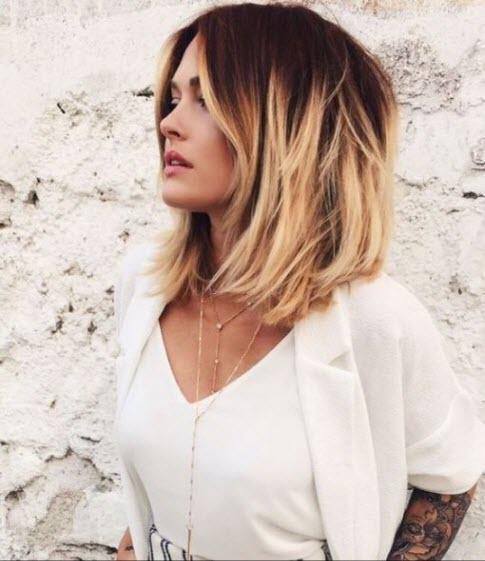 Окрашивание балаяж - фото и варианты для разных типов волос