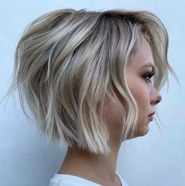 10 красивых красивых идей блонда на коротких волосах