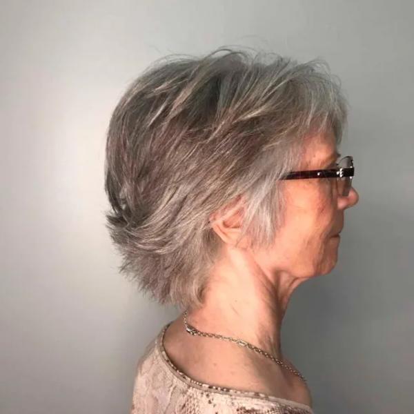 14 коротких жестких стрижек для пожилых женщин, которые добавят сияния молодости
