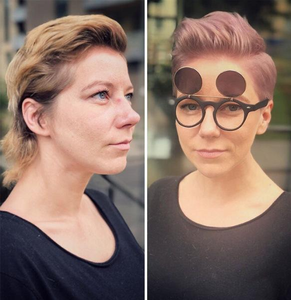 Хороший парикмахер лучше пластического хирурга! 20 удивительных преображений