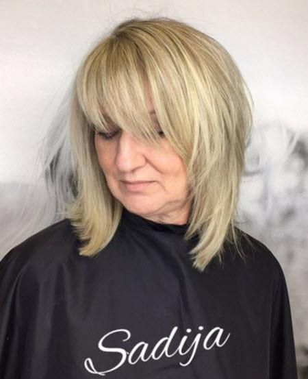 Красивые и модные стрижки для женщин старше 50. Фото новинок сезона 2021 с именами