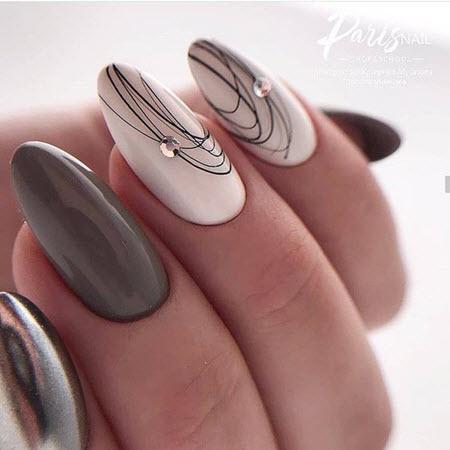 Модный маникюр 2021. Топ-5 модных идей дизайна ногтей