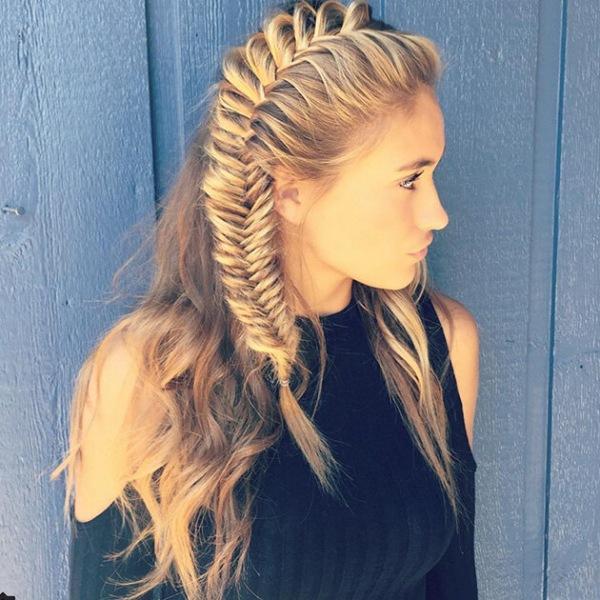 Научись плести стильные косы за5 минут, это легко!