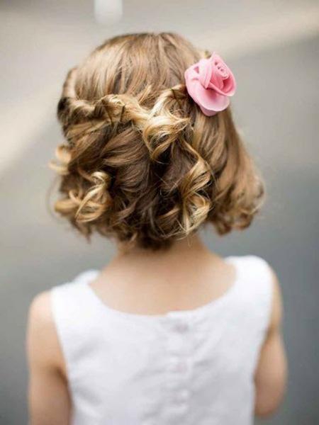 Прически для девочек на выпускной в детском саду. Более 50 фото красивых идей