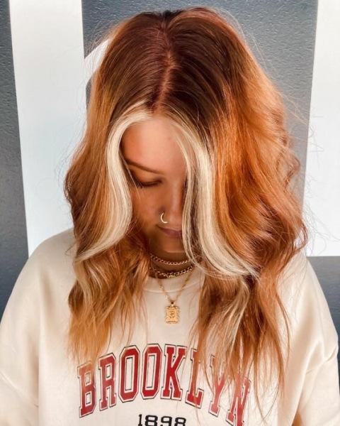 Тыквенная пряность: цвет волос в стиле Хэллоуина