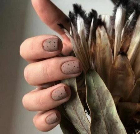 Стильный маникюр на короткие ногти 2021-2022. Более 100 фото трендового дизайна ногтей