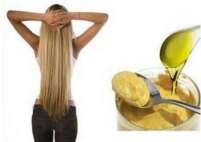 Рецепт горчичной маски для волос для роста волос в домашних условиях