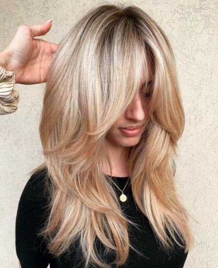 Стрижки с челкой 2022: модные фото новинок на короткие, средние и длинные волосы