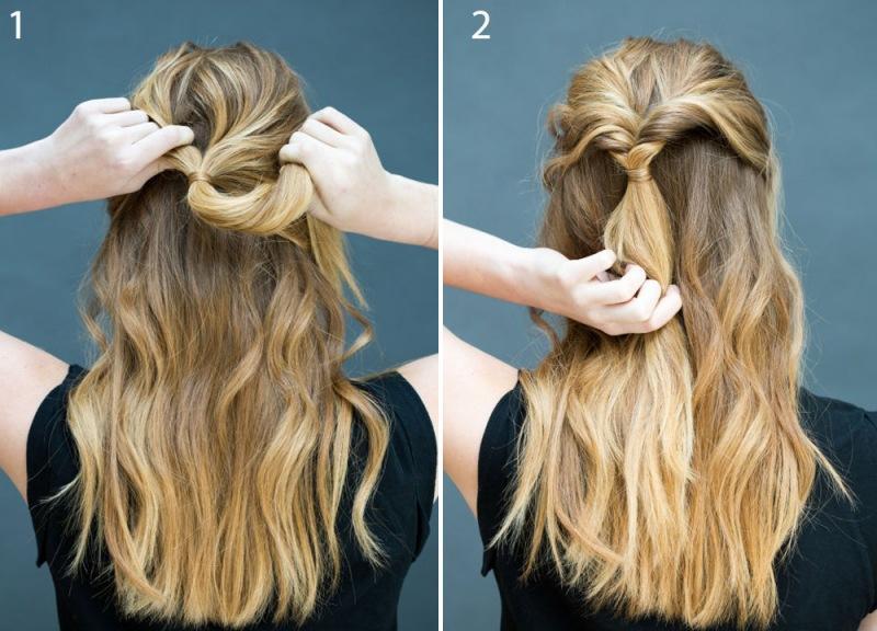 Строгие прически на длинные волосы. Красивые строгие прически на работу